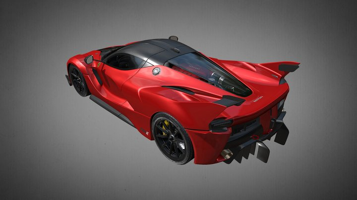 Ferrari Fxxk 2014 3D Model