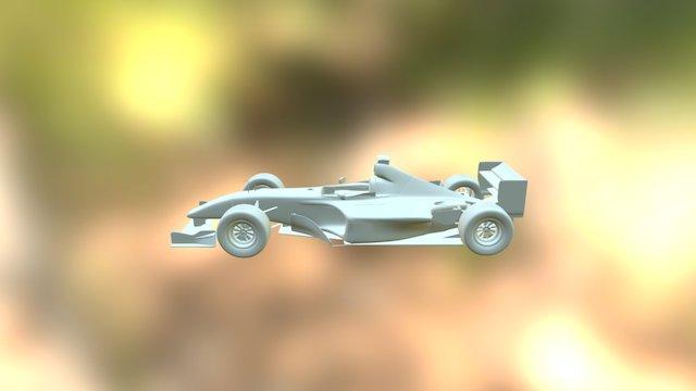 FERRARI F1 3D Model