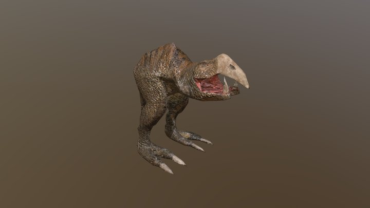 Wormmouth 3D Model