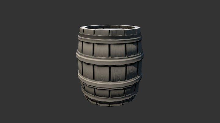 Barrel Uv 3D Model