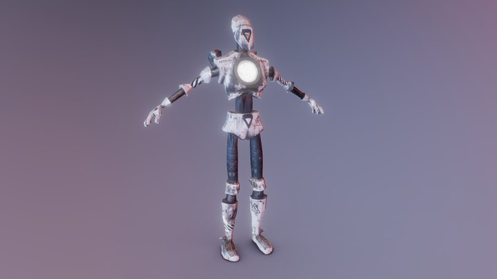 Robot 1 Transfuse GGJ2018 3D Model