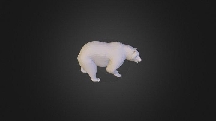 Bear Medved 3D Model