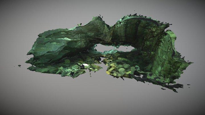 Nomash River Cave, Entrance 3D Model