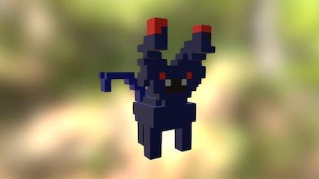 Ali Vampire 3D Model
