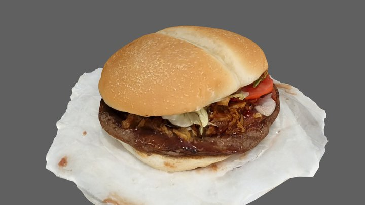 Baconizer from Burger King 3D Model