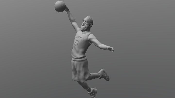 James Harden for 3D printing 3D Model