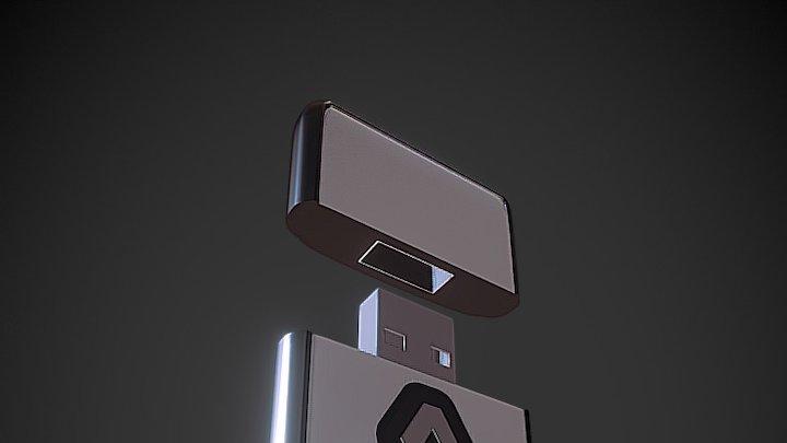 USB 3D Model