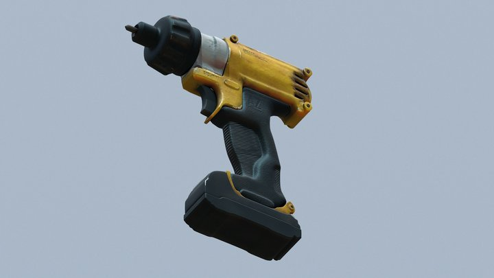 Trapano 02 3D Model