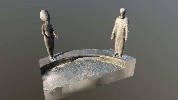 Filozófusok kertje - Budapest 3D Model