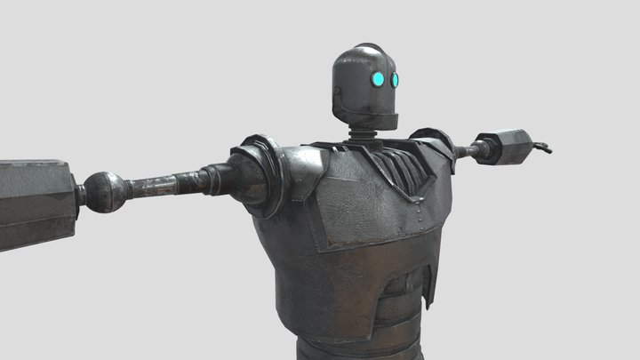 The Iron Gigante 3D Model