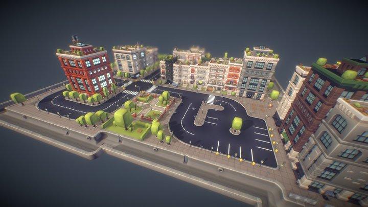 City Set - Proto Series 3D Model