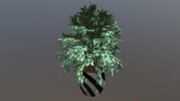 Flowerpot 2 3D Model