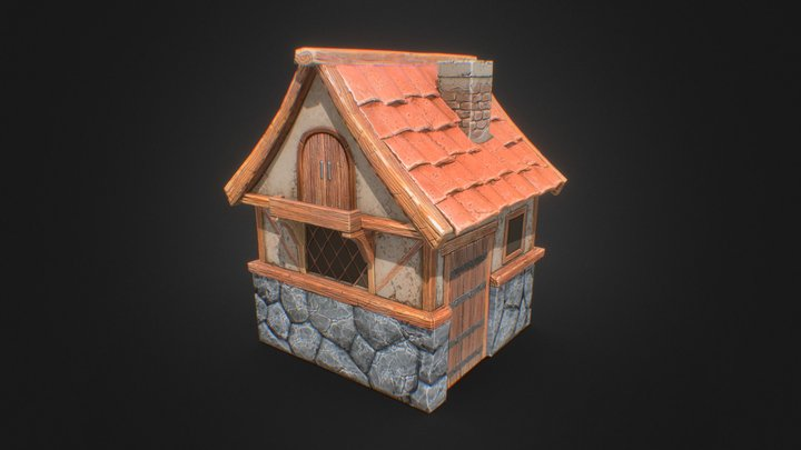 House A 3D Model