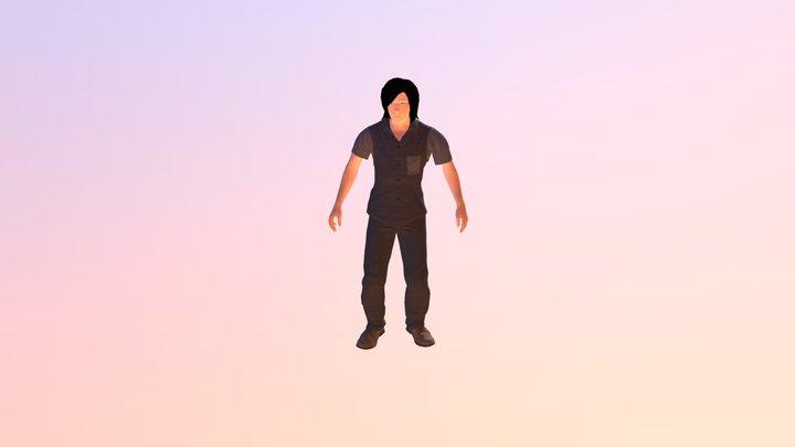 """Me"" looking around 3D Model"