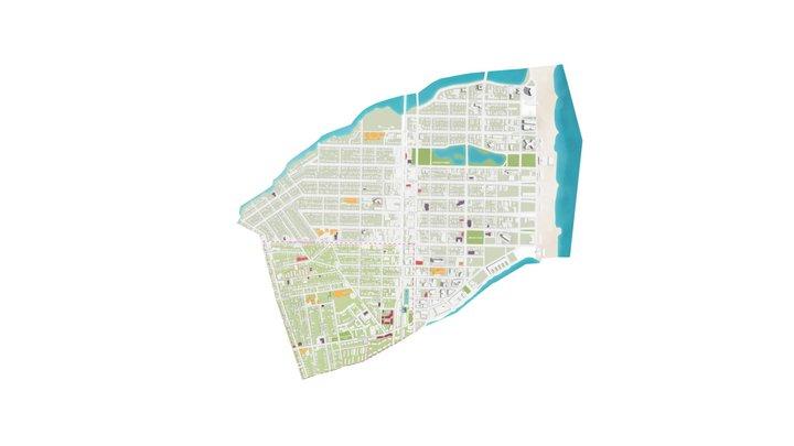 Asbury Park Choice Neighborhood 3D Model