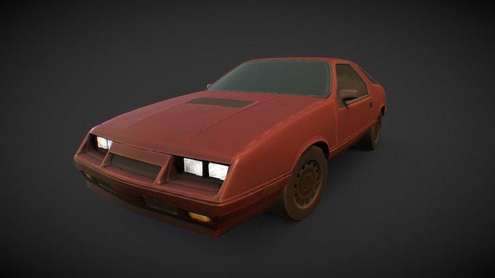 1984 Dodge Daytona 3D Model