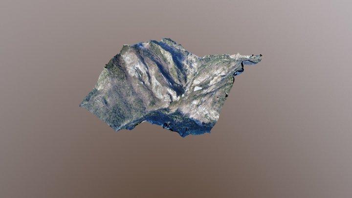 Dovžanova soteska 3D Model