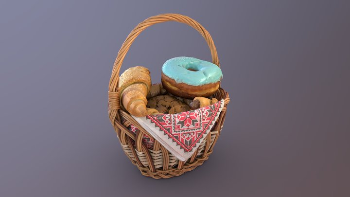 Tea basket 3D Model