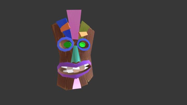 Tiki Mask *WIP* 3D Model