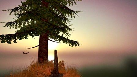 Sunny Evening 3D Model
