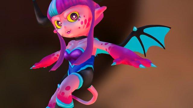 Lilin & the Stolen Souls: LILIN 3D Model