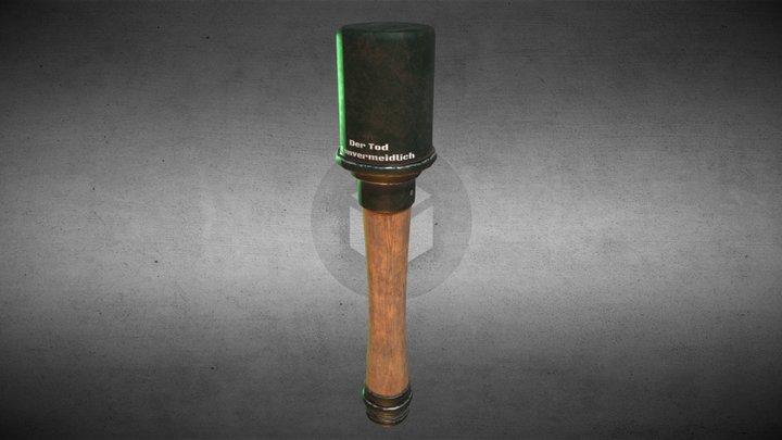 M24 Grenade Dirty 3D Model