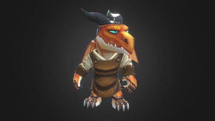 Ferrax the Dragon Smith 3D Model
