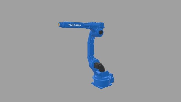 YASKAWA Robot No. HP20F 3D Model