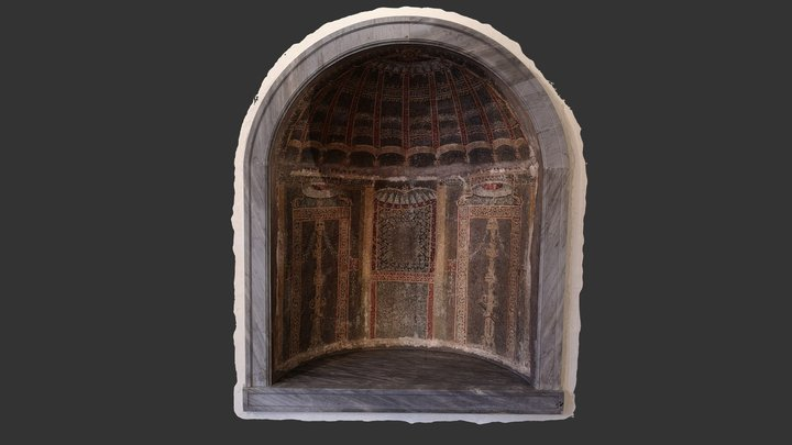 Lararium in Naples Archaeological Museum 3D Model