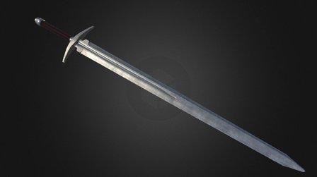 Great sword (PBR) 3D Model