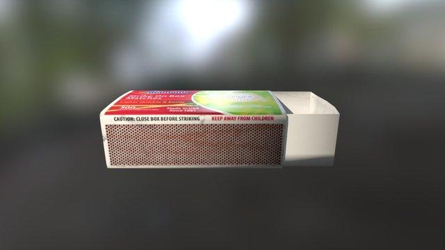 Diamond - Matchbox 3D Model