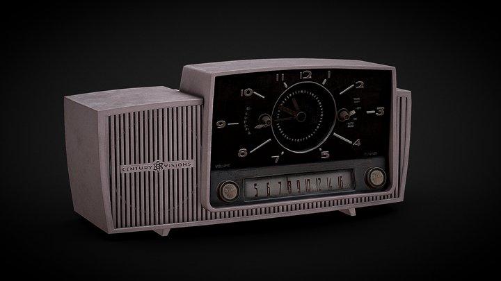 1950s Radio 3D Model