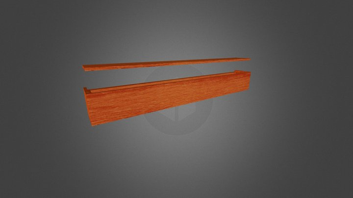 Medal Shelf 3D Model