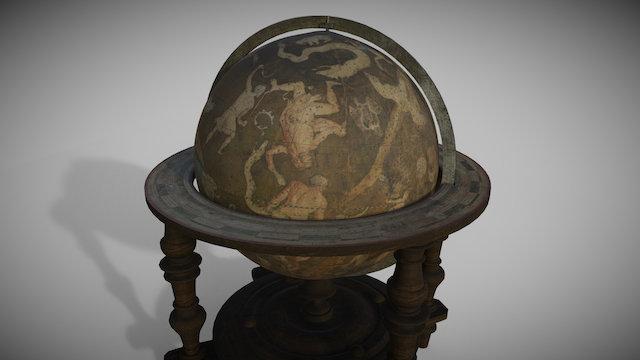 Celestial Globe (1700 a.C.) 3D Model