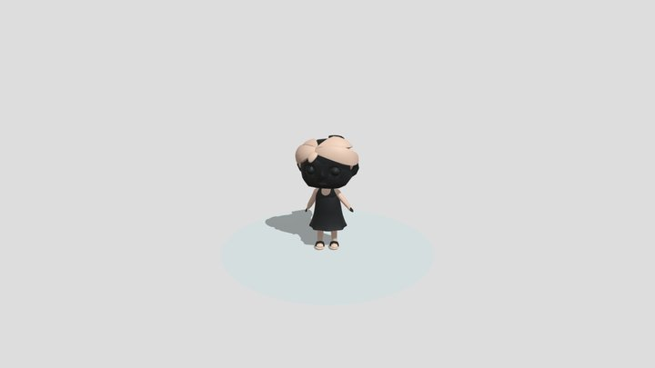 Animation Of Character - Part 2 3D Model