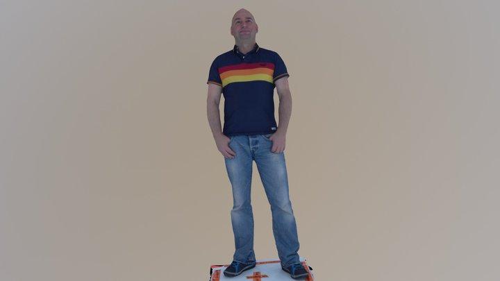 Richard 3D Model