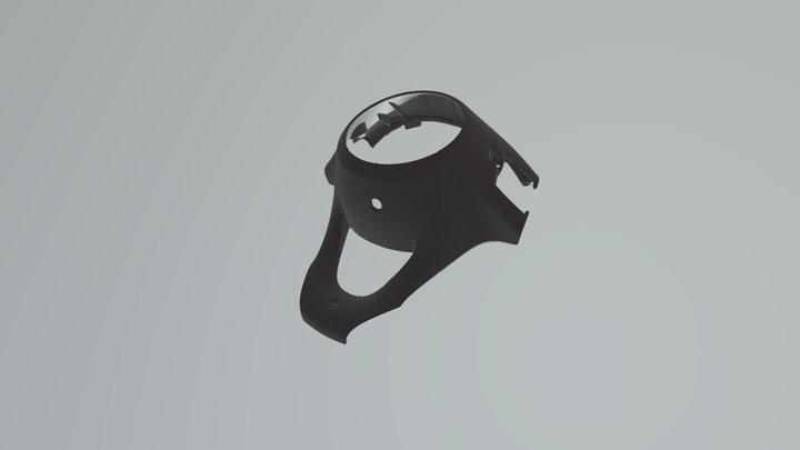SMART Fortwo w451 wheel cover 3D Model
