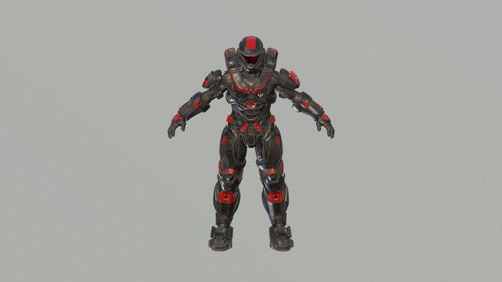 Jake B106 Final 3D Model