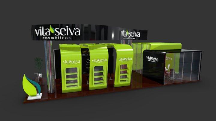 Vita Seiva - 2014 Beauty Fair Booth 3D Model