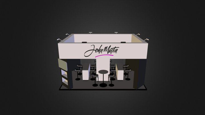 Jhon Martin 3D Model