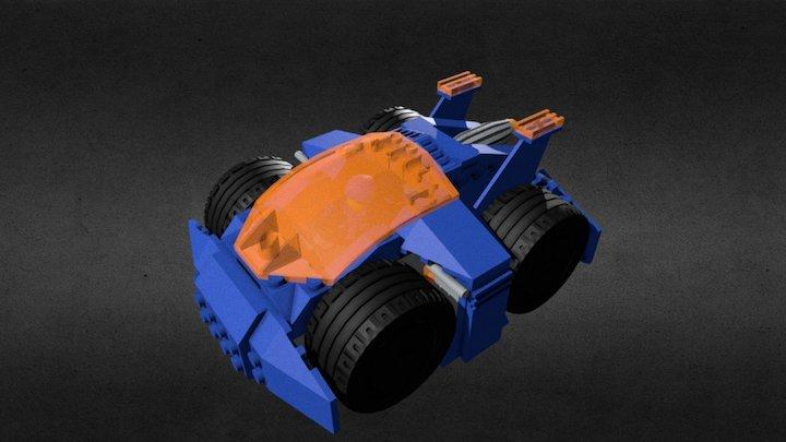 Compact Car 3D Model
