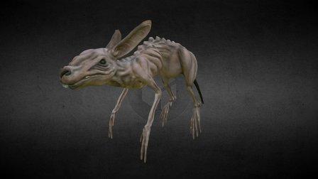 Zombie Rabbit 3D Model