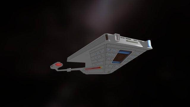 Star Trek Tug 3D Model