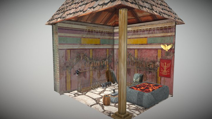 Armeria04 3D Model