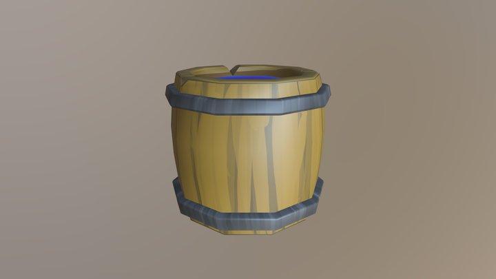 Barrel - Improved Version 3D Model