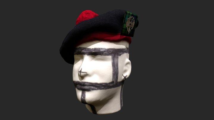 Tam O'Shanter and Monarch o' the Glen Badge 3D Model