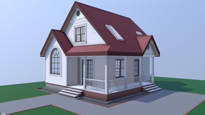 NEOarch Cottage SB 003 3D Model