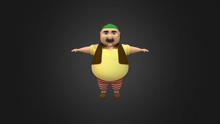 Pepe 3D Model