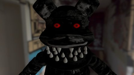 Nightmare Moise The Mouse 3D Model