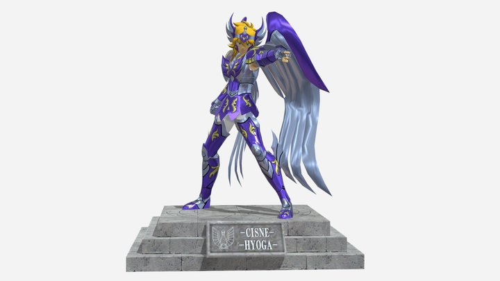 Hyoga V4 ACE 3D Model